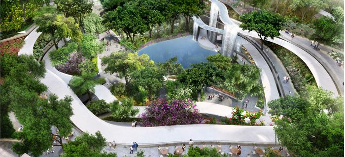 新加坡Marina One花园