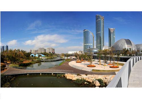山东省会文化艺术中心室外景观设计