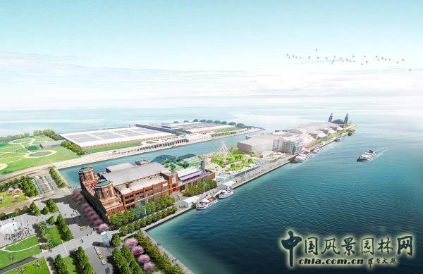 芝加哥海军码头改造