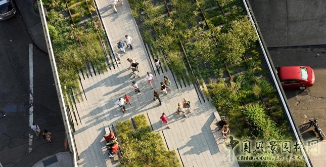 纽约高线公园一期