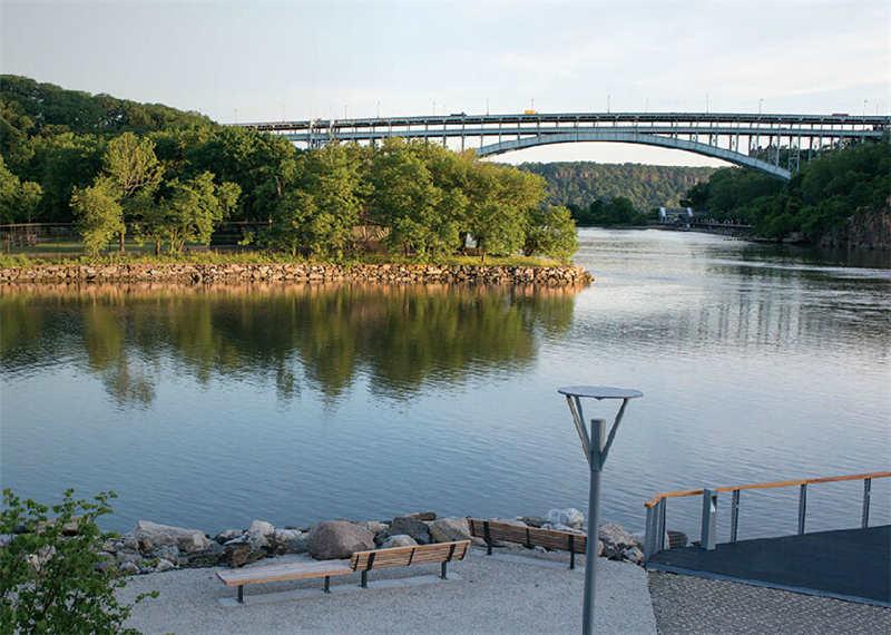 纽约muscota湿地景观