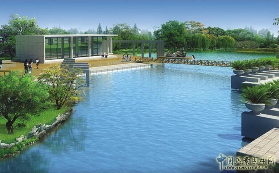 同圆作品:山东乳山炉上河河道景观设计(图)