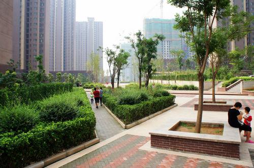 同圆作品:唐冶七村整合安置房项目景观设计(图)
