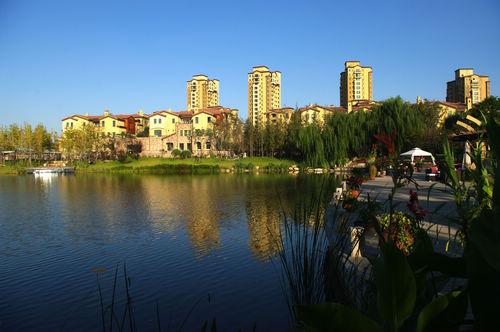 同圆作品:济南蓝石-大溪地景观设计(图)
